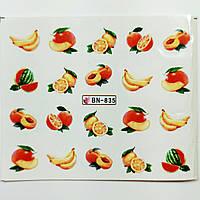Наклейка для ногтей BN-835