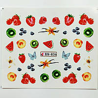 Наклейка для ногтей BN-836