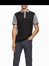 Футболка поло мужская Calvin Klein Regular Fit Colorblock Stripe Polo