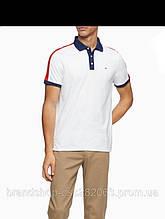 Футболка поло мужская Calvin Klein Regular Fit Stripe Polo Shirt