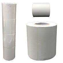 Этикетка самоклеющаяся белая для принтера в рулоне 600 шт