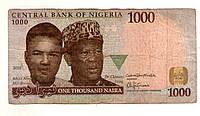 Нигерия 1000 найра 2016