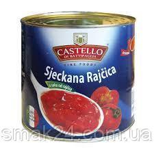 Помидоры рубленные Castello Sjeckana Rajcica 425г Италия
