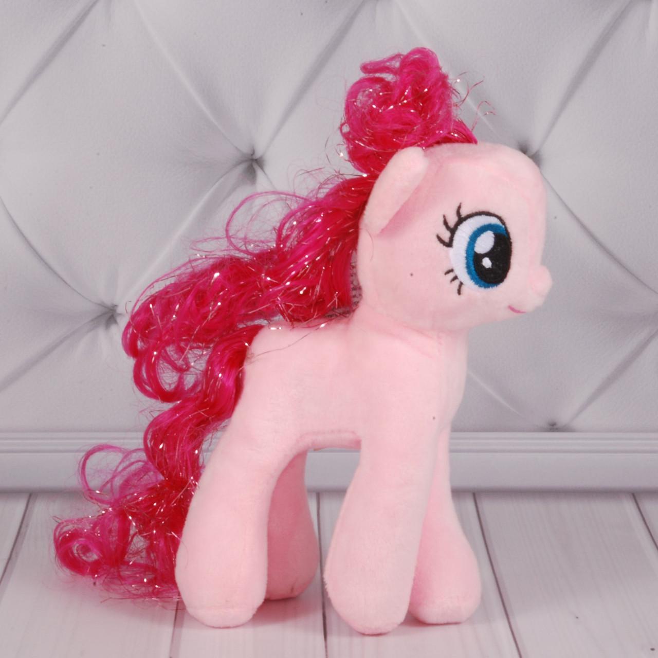 М'яка іграшка Поні рожева 01/1, 20см, 24985-4роз