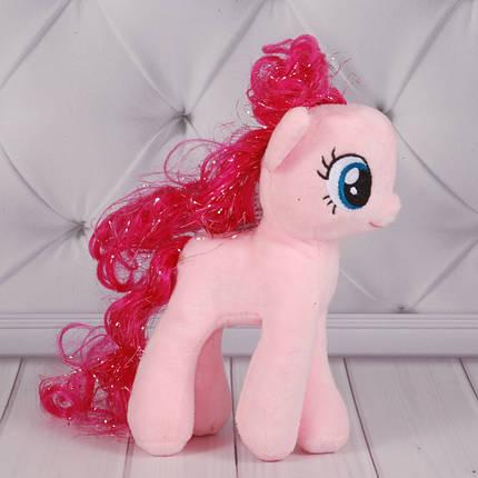 М'яка іграшка Поні рожева 01/1, 20см, 24985-4роз, фото 2