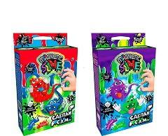 """Безопасное образовательное творчество Danko Toys, для проведения опытов """"Crazy Slime Magnetic"""", ДТ-НВ-08-68"""