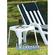 Столик для шезлонга Papatya ROYAL 05 темно-зеленый, фото 5