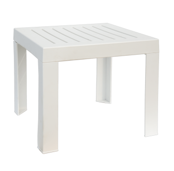 Столик для шезлонга Papatya SUDA 01 белый
