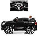 Детский электромобиль Джип M 3984 EBLRS-2, Toyota, колеса EVA, кожаное сиденье, Автопокраска, черный лак, фото 6
