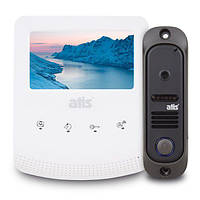 Комплект видеодомофона ATIS AD-430W Kit box White, фото 1
