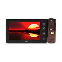 Комплект видеодомофона ATIS AD-760B Kit box Black, фото 1
