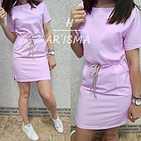 Платье женское летнее короткое с карманами