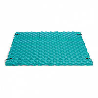 Матрас надувной Intex Гигант 290x213 см Голубой