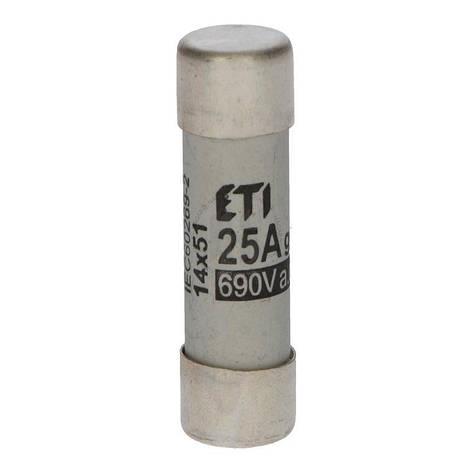 Предохранитель ETI CH 14x51 gG 25A 690V, фото 2