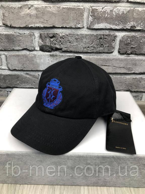 Кепка Billionaire | Мужская бейсболка Billionaire | Черная кепка биллионер | Стильные классические кепки