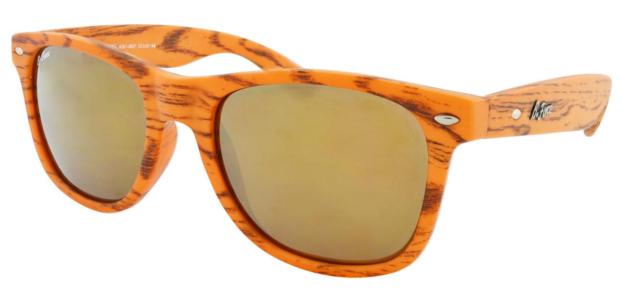 Стильные солнцезащитные очки Beach Force Wayfarer BF506K 52-20-147 + чехол