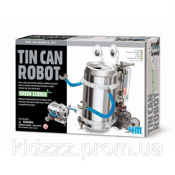 Набір для творчості 4M Робот-жерстянка (00-03270)
