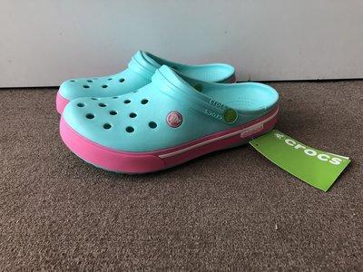 Кроксы детские Crocs Crocband 2.5 бирюзовые 30-31 разм. J1
