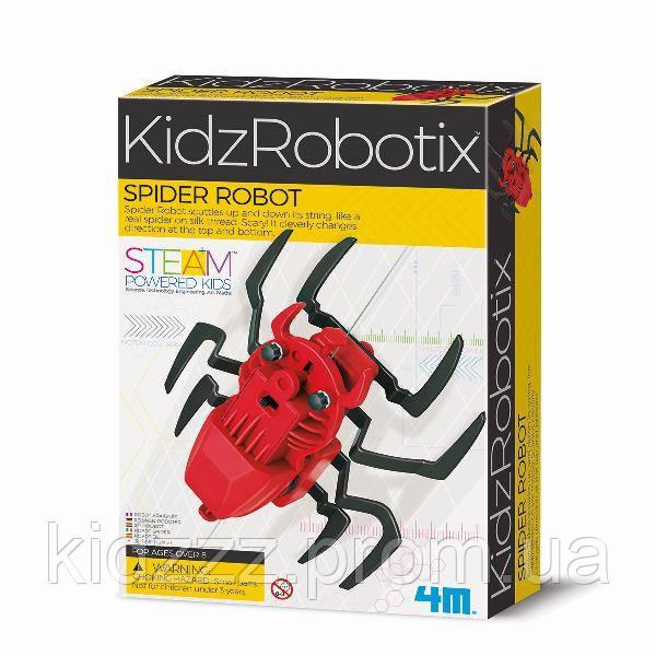 Набір для творчості 4M Робот-павук (00-03392)