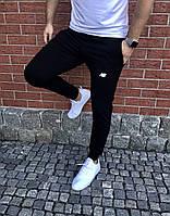 Мужские спортивные штаны, чоловічі спортивні штани New Balance (белая надпись), Реплика