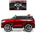 Детский электромобиль Джип M 3984 EBLRS-3, Toyota, колеса EVA, кожаное сиденье, Автопокраска, красныйлак, фото 6
