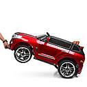 Детский электромобиль Джип M 3984 EBLRS-3, Toyota, колеса EVA, кожаное сиденье, Автопокраска, красныйлак, фото 8