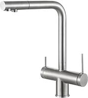 Четырёх кональный смеситель для проточной фильтрованной и минерализованной воды Fabiano FKM 31.40 S/S Inox