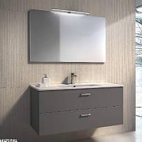 Комплект мебели GBGroup PLAY 100 Тумба с раковиной подвесная, зеркало, светильник