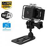 Влагозащитная экшен-камера, мини камера, видеорегистратор  SQ-23 WiFi  FullHD 1080p, фото 3