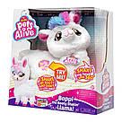 Интерактивная танцующая мягкая игрушка Pets alive Лама танцовщица белая от ZURU Оригинал, фото 4