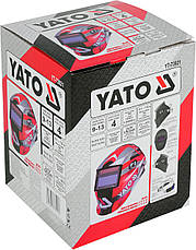 Профессиональная сварочная маска YATO YT-73921, фото 3