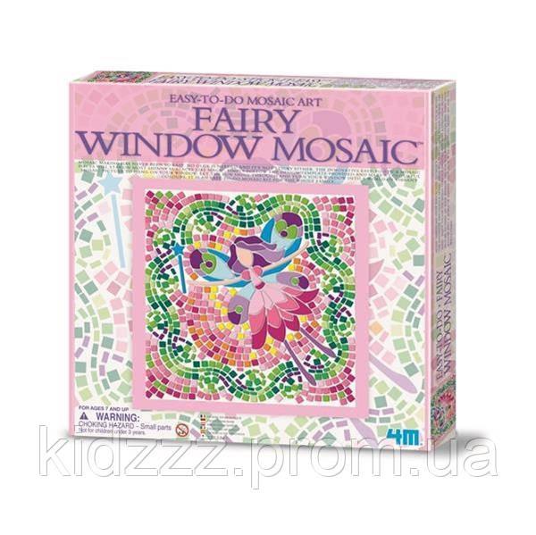 Набір для творчості 4M Мозаїка на вікно (в асортименті (Фея / Русалка / Принцеса) (00-04565)