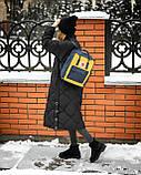 Женский желто-синий рюкзак сумка Fjallraven Kanken Classic канкен 16 л, фото 3