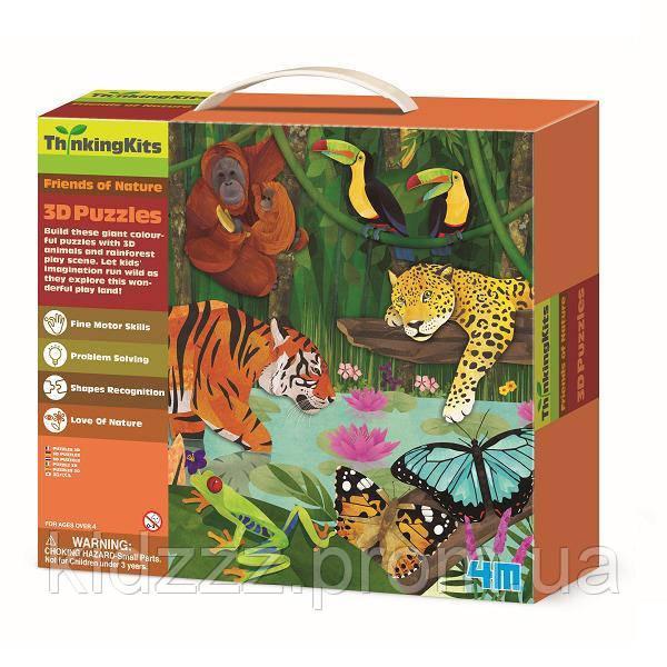 """3D-пазл 4M """"Тропічний ліс"""" (00-04678)"""