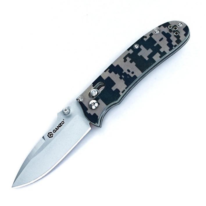 Нож складной Ganzo G704-CA камуфляж