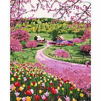 Картина по номерам Весеннее разноцветье 40 х 50 см ТМ Идейка КНО2254