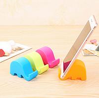 Подставка для телефона, планшета, слоник, фото 1