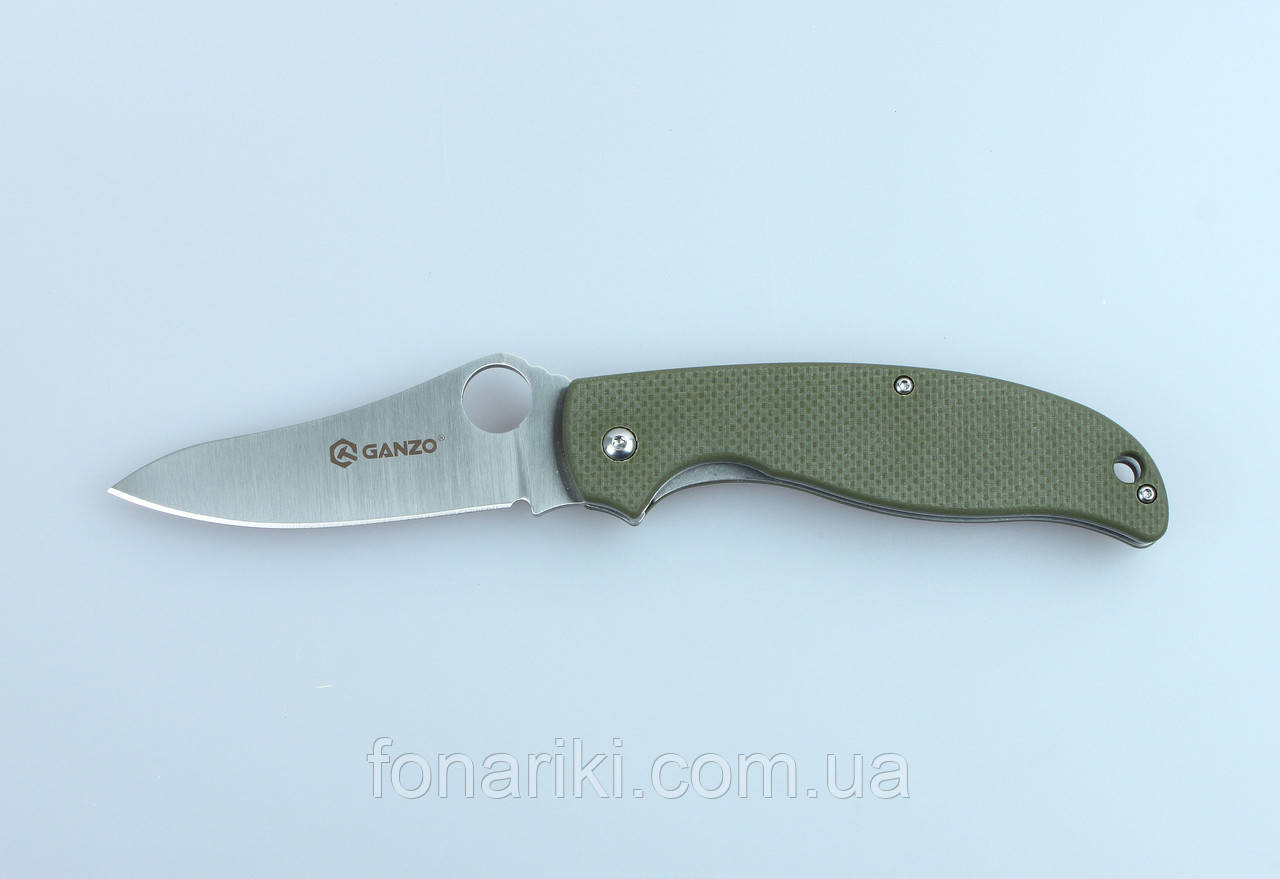 Нож складной Ganzo G734-GR зеленый