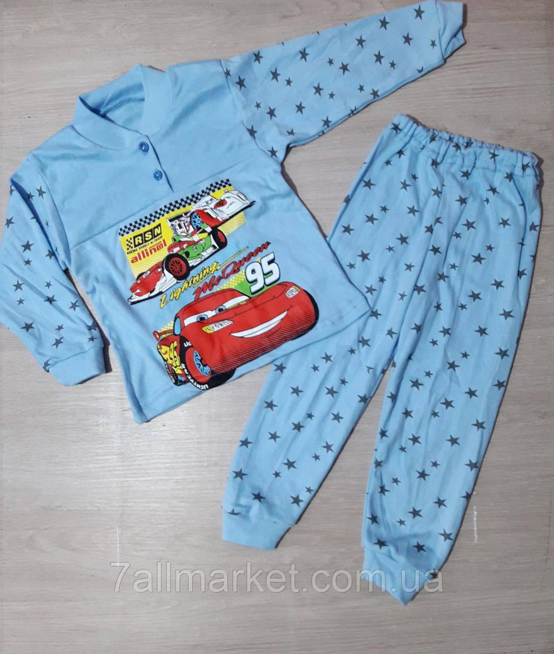 """Пижама детская интрелок с принтом  на мальчика 26-34 рр """"MARI"""" купить оптом в Одессе на 7 км"""