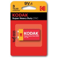 Батарейка KODAK  SUPER HEAVY DUTY 6F22 1 шт. блистер