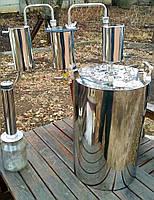 Дистилляторы БУДЬМО классические с 2-мя сухопарниками и холодильником 14,24,33,43,58