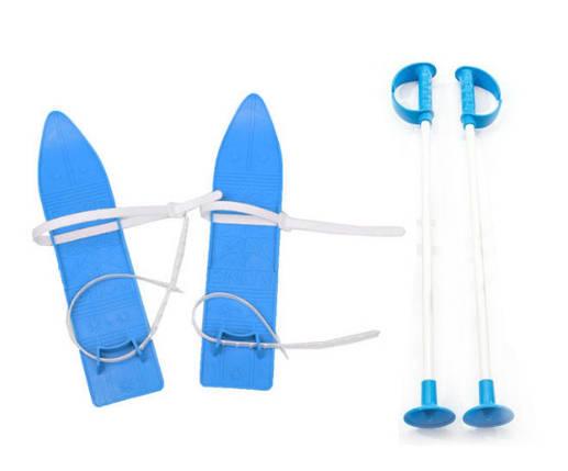 Дитячі лижі KIDS SKI, сині, 6104СИН, фото 2