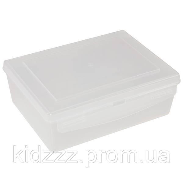Контейнер пластиковий Gigo білий (1033)