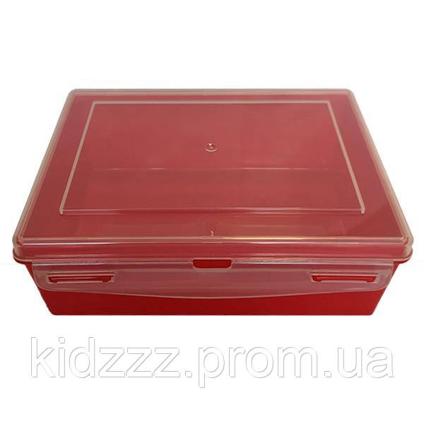 Контейнер пластиковий Gigo червоний (1033R)