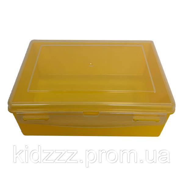 Контейнер пластиковий Gigo жовтий (1033Y)