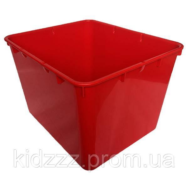 Контейнер пластиковий відкритий Gigo червоний (1138R)