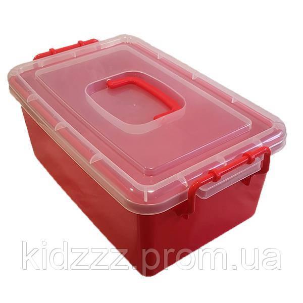 Контейнер пластиковий великий Gigo червоний (1140RR)