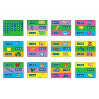 Набiр для навчання Gigo Карточки до набору Цікаві літери 1401 (1402)