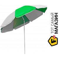 Зонт Time Eco ТЕ-002 белый/зеленый