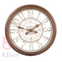 Часы (35 см) пластик, бронза